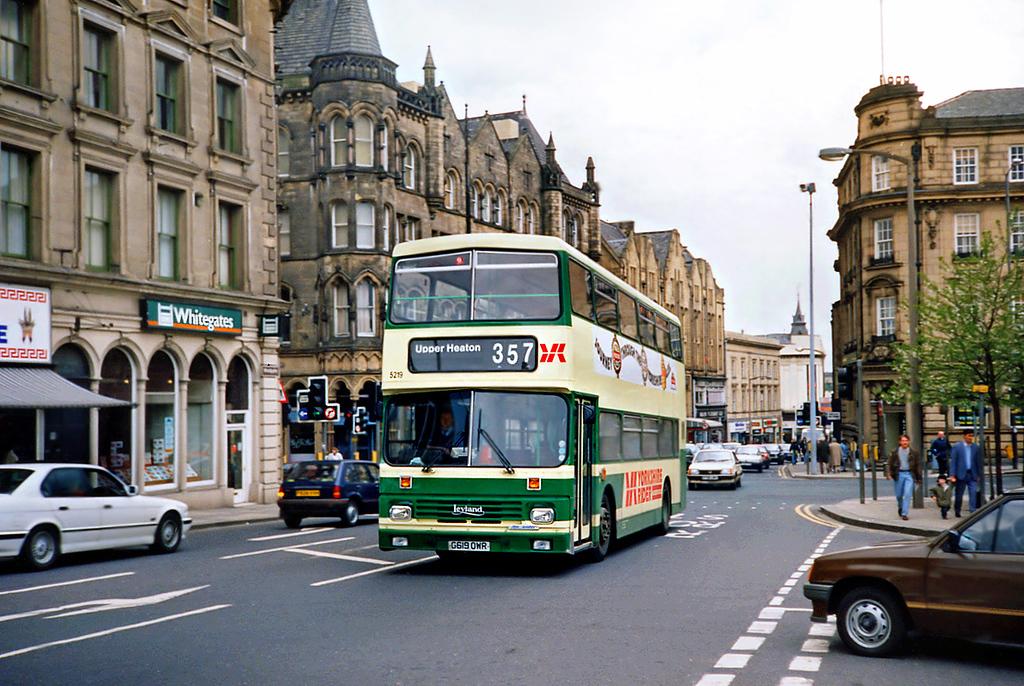 5219 G619OWR, Huddersfield 20/4/1991