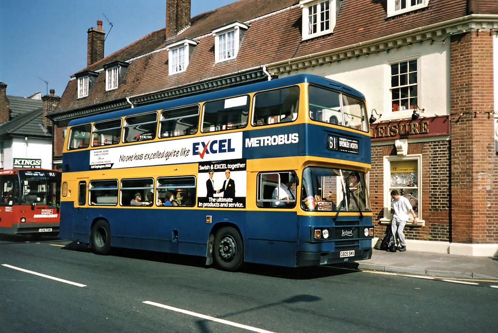 G805SMV, Orpington 20/5/1991