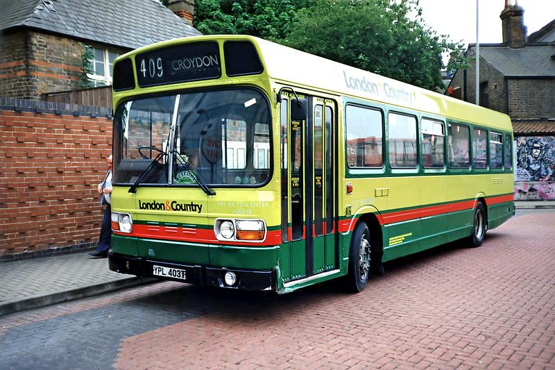SNB403 YPL403T, Croydon 20/5/1991