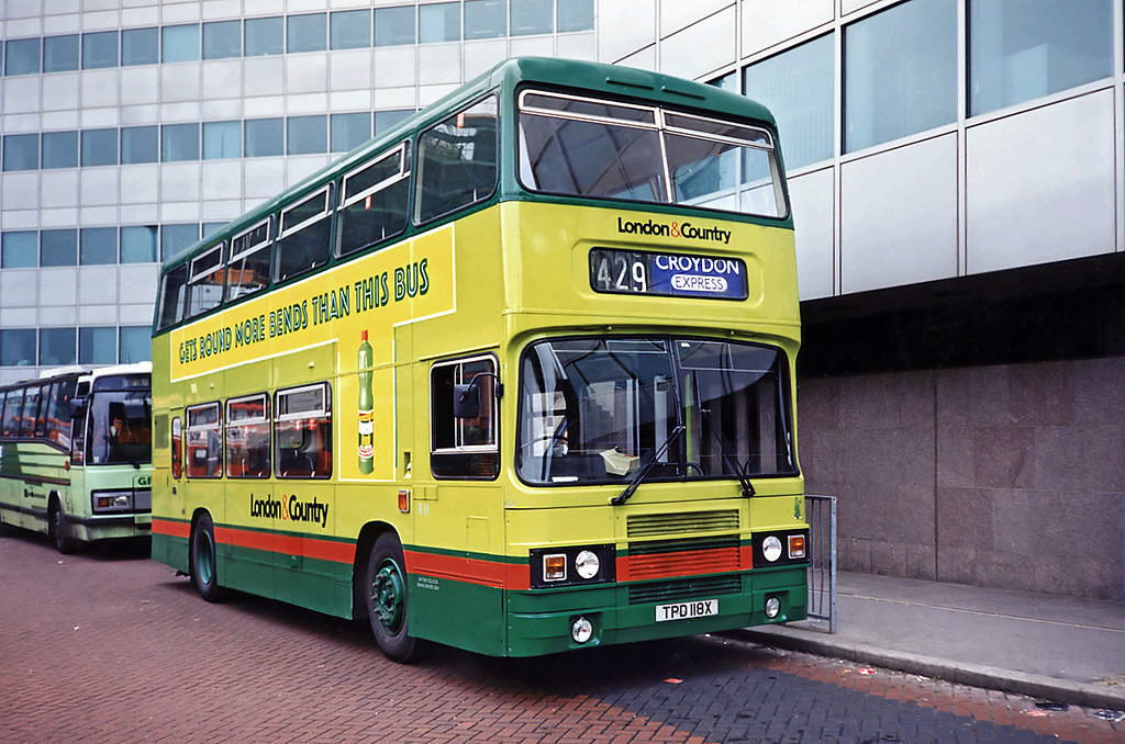 LR18 TPD118X, Croydon 20/5/1991