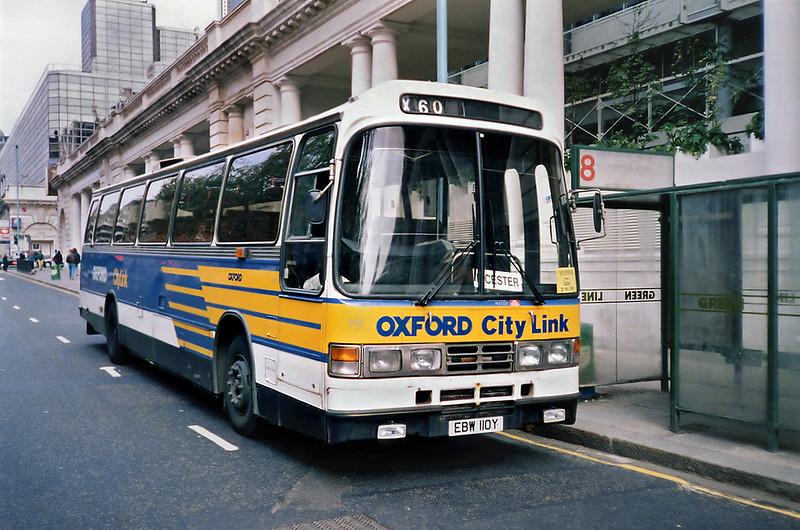 110 EBW110Y, London Victoria 20/5/1991