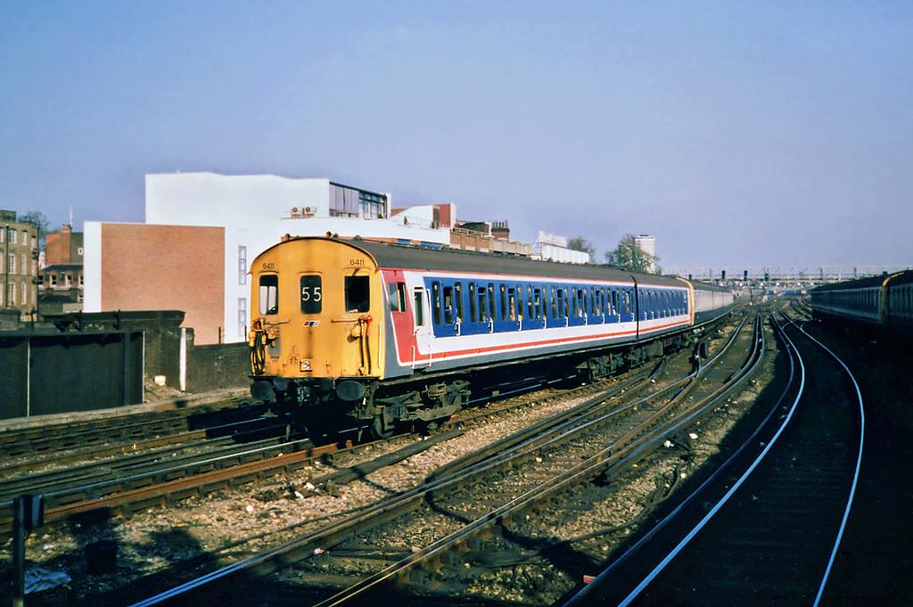 6411 and 5104, London Bridge 20/5/1991