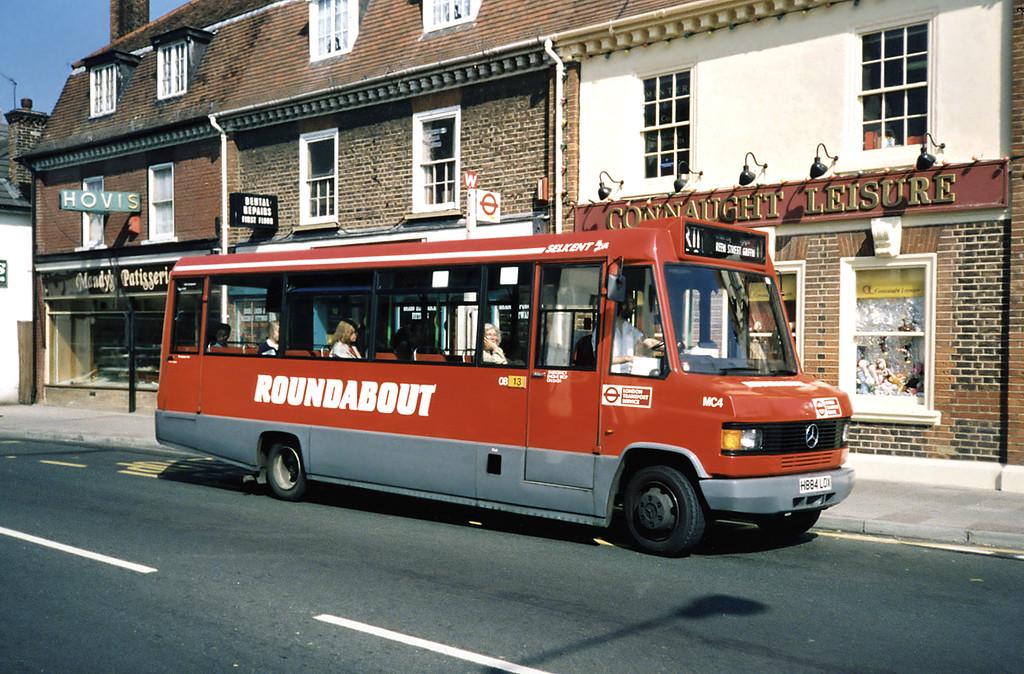 MC4 H884LOX, Orpington 20/5/1991
