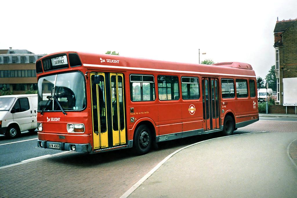 LS406 BYW406V, Bromley 20/5/1991