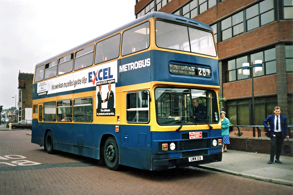 UWW13X, Bromley 20/5/1991