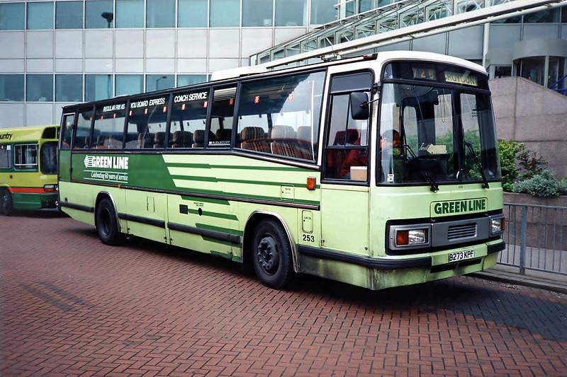 253 B273KPF, Croydon 20/5/1991