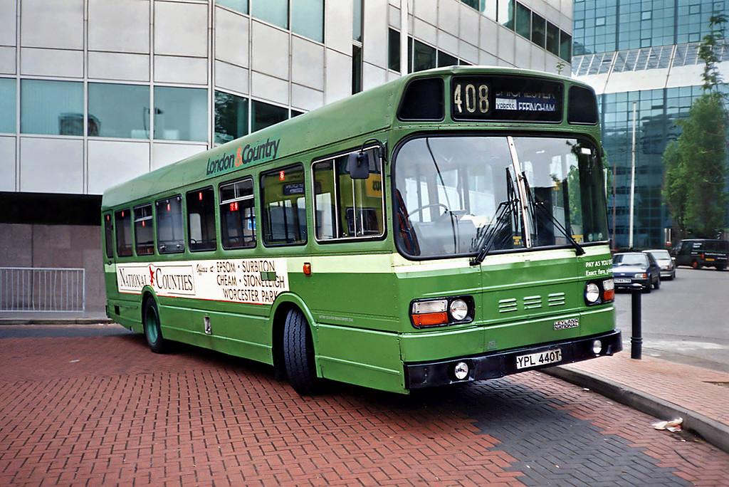 SNB440 YPL440T, Croydon 20/5/1991