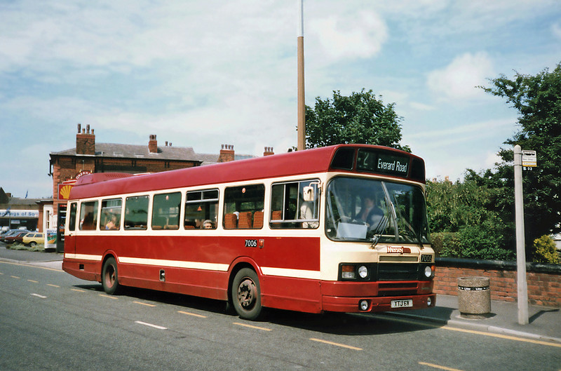 7006 XTJ6W, Southport 20/7/1991