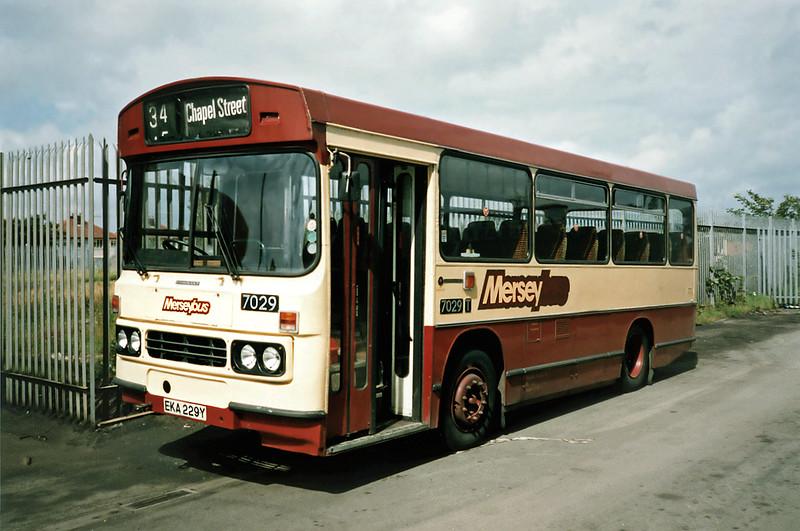 7029 EKA229Y, Blowick 20/7/1991