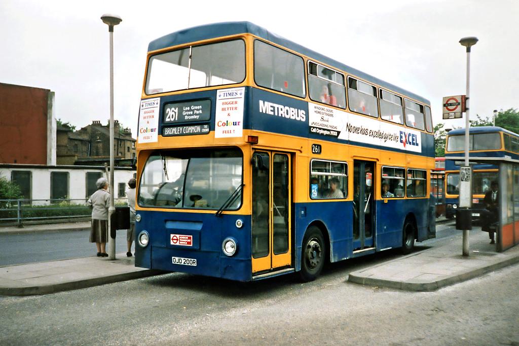 OJD200R, Lewisham 21/5/1991
