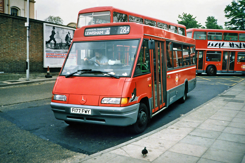 SR77 F177FWY, Lewisham 21/5/1991