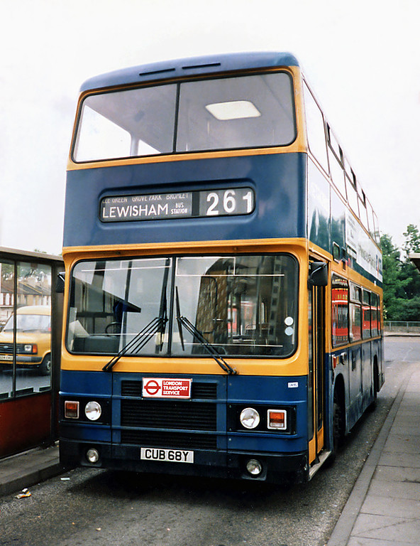 CUB68Y, Lewisham 21/5/1991