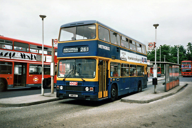 UWW14X, Lewisham 21/5/1991