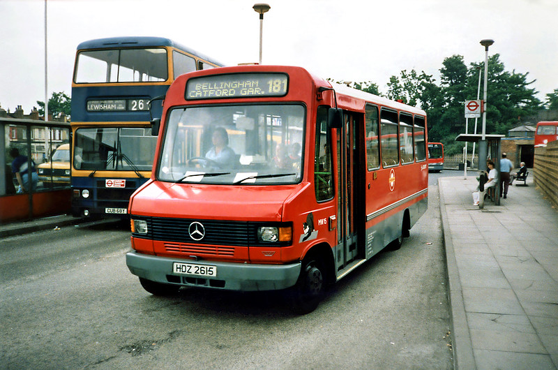 MW15 HDZ2615, Lewisham 21/5/1991