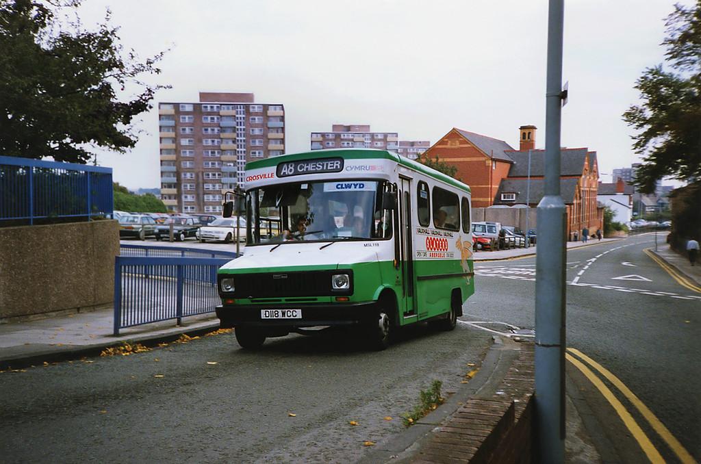 MSL118 D118WCC, Chester 21/9/1991