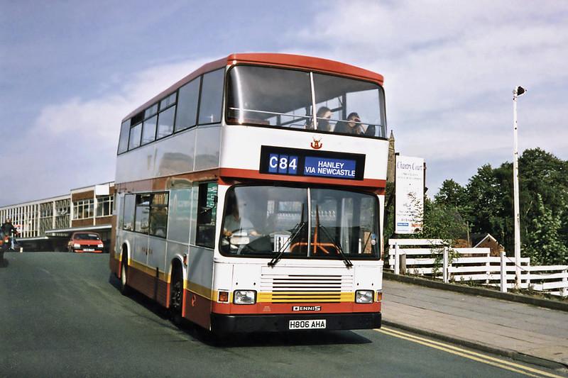 1806 H806AHA, Crewe 21/9/1991