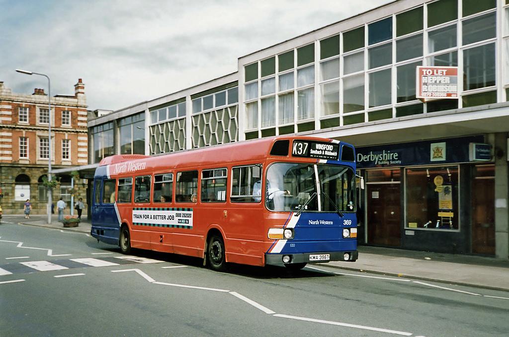 369 KMA369T, Crewe 21/9/1991