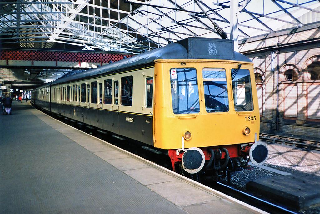 51368, 59520 and 51410, Crewe 21/9/1991