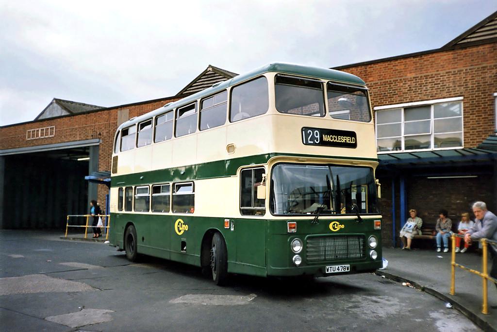 DVG478 WTU478W, Macclesfield 21/9/1991