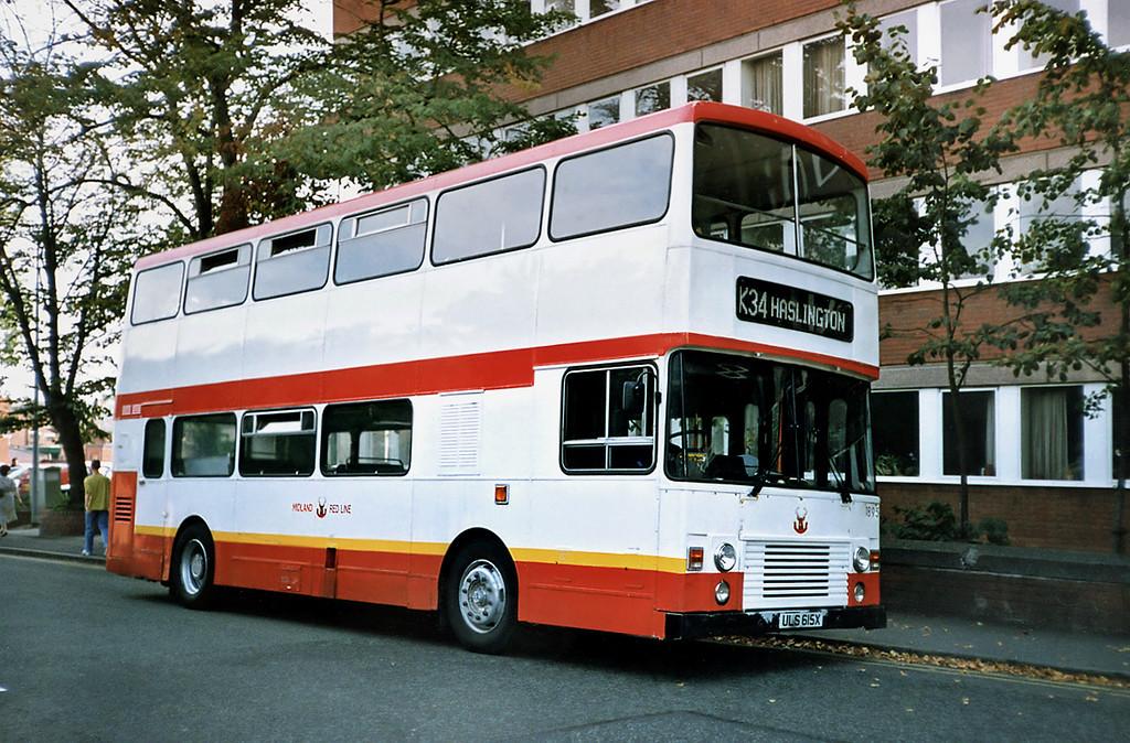 1895 ULS615X, Crewe 21/9/1991