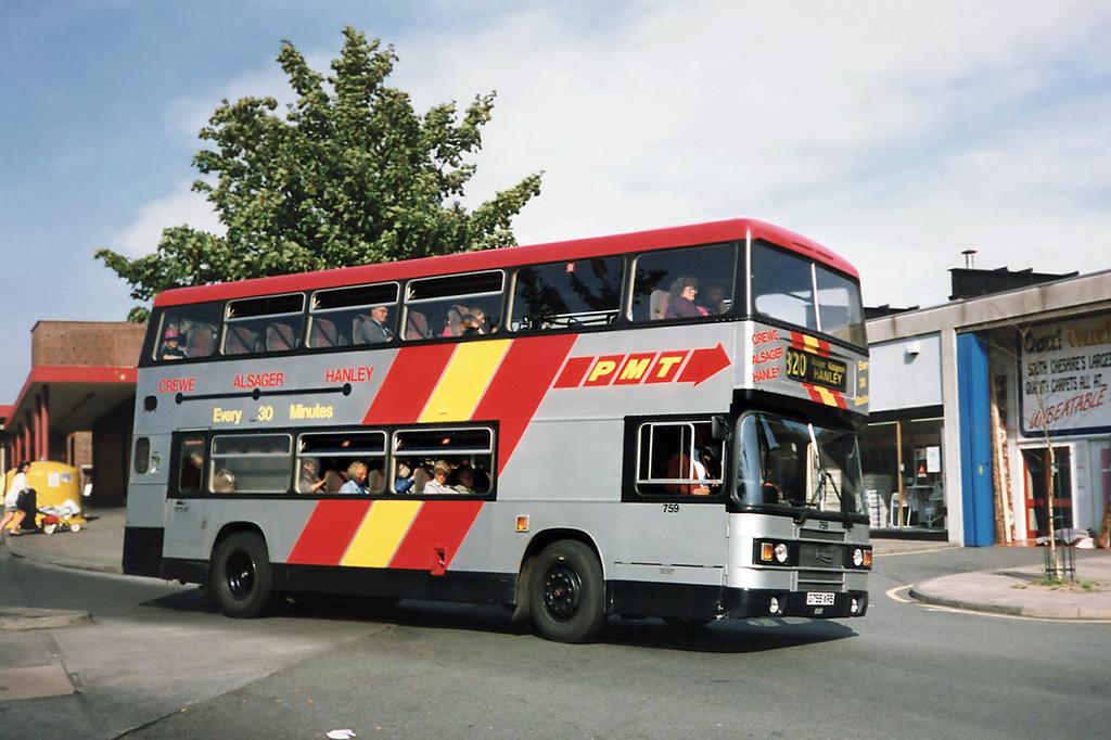 759 G759XRE, Crewe 21/9/1991