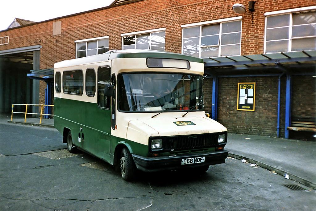 MSR68 D68NOF, Macclesfield 21/9/1991