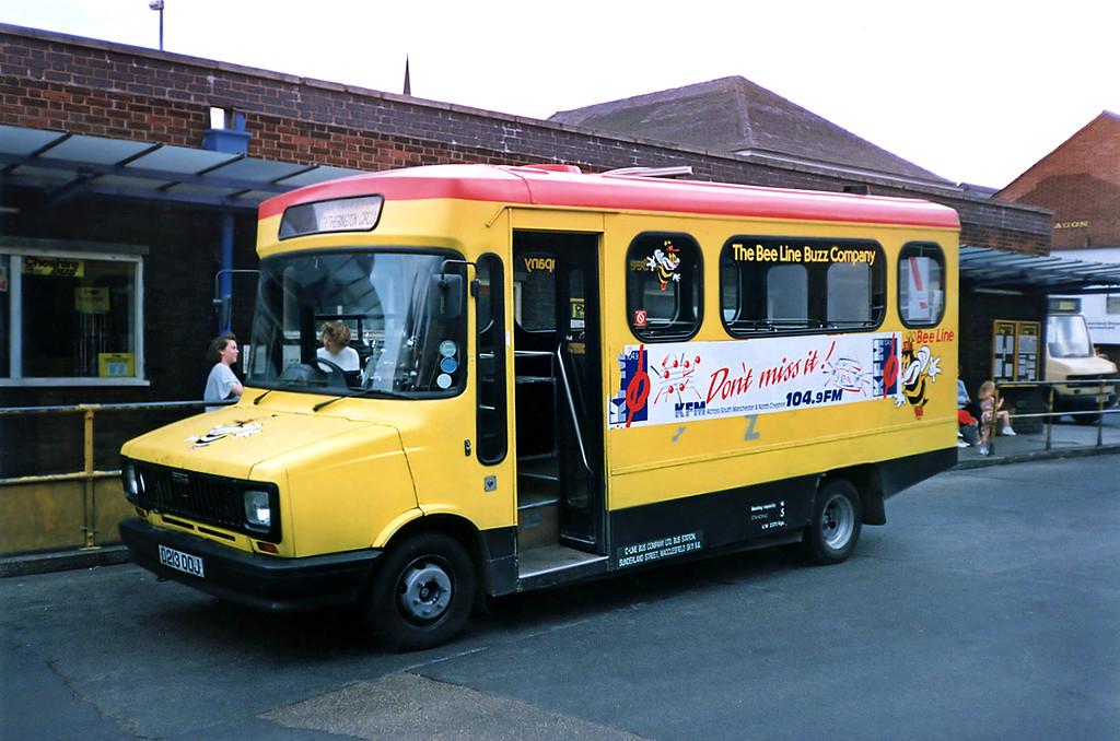MSR213 D213OOJ, Macclesfield 21/9/1991