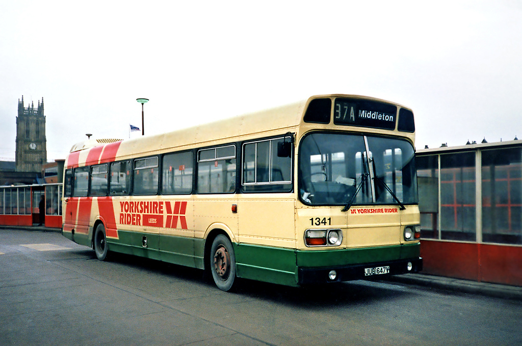 1341 JUB647V, Leeds 22/2/1991