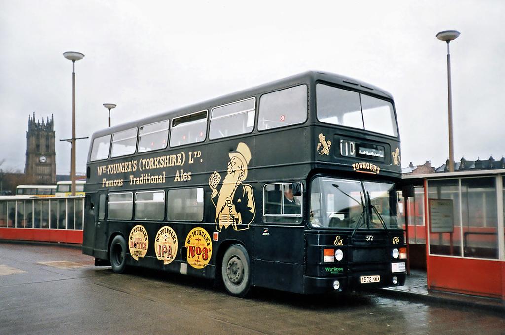 572 A572NWK, Leeds 22/2/1991