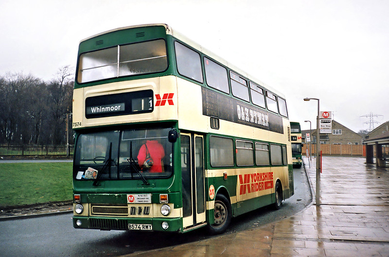 7574 B574RWY, Whinmoor 22/2/1991