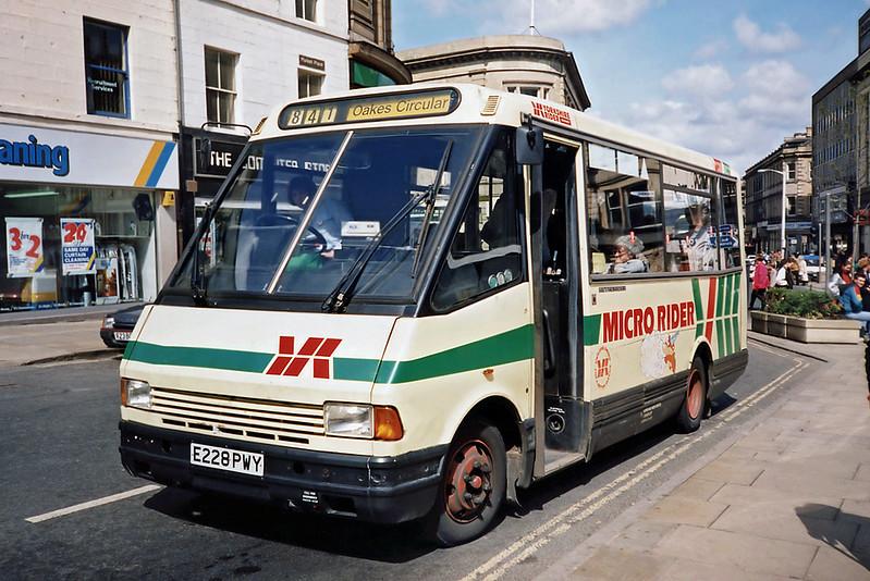 2028 E228PWY, Huddersfield 23/4/1991