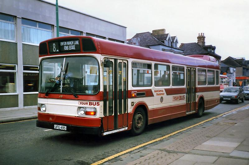 49 UFG49S, Hartlepool 23/8/1991