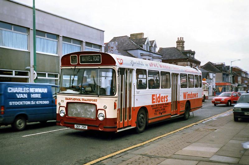 75 OEF75K, Hartlepool 23/8/1991