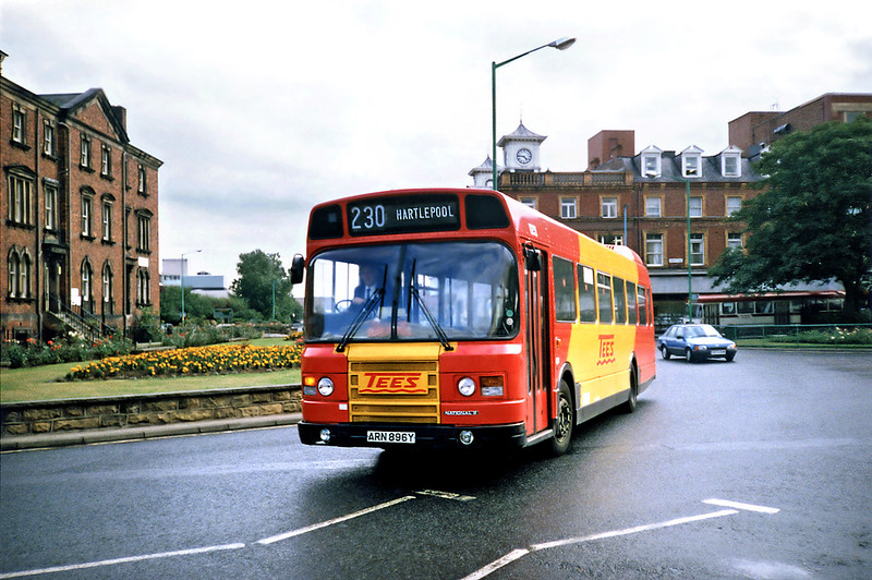 3148 ARN896Y, Hartlepool 23/8/1991