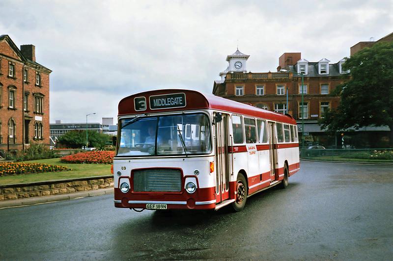 89 GEF189N, Hartlepool 23/8/1991