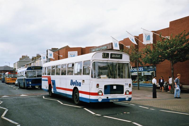 EPW513K, Middlesborough 23/8/1991