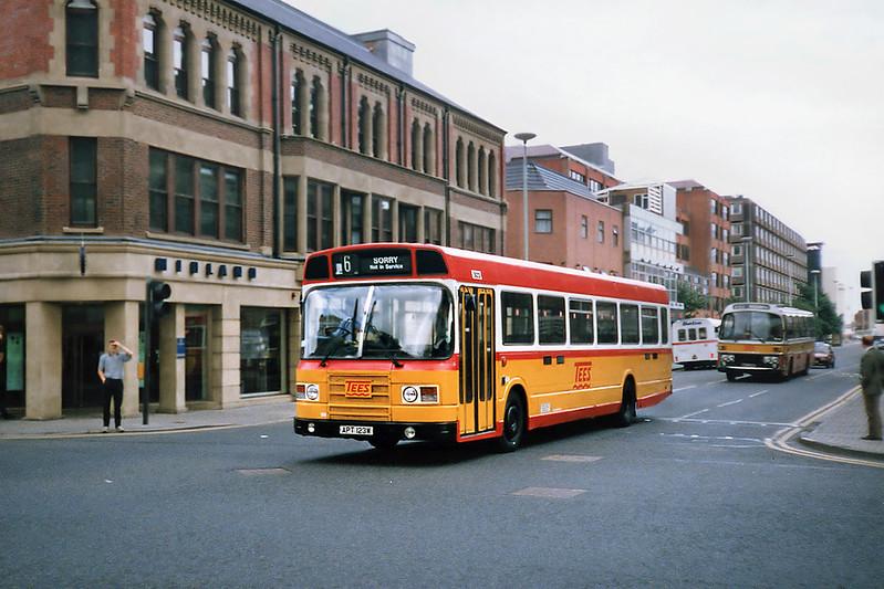 3123 APT123W, Middlesborough 23/8/1991
