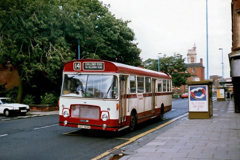 85 GEF185N, Hartlepool 23/8/1991