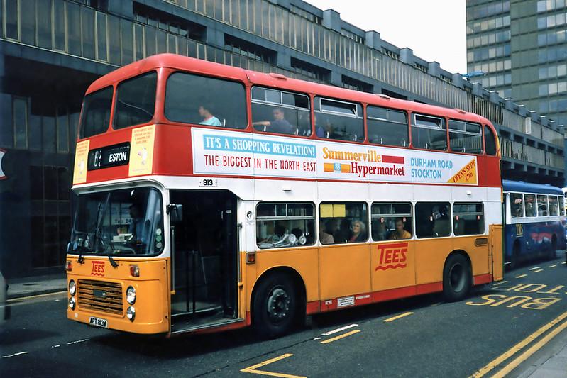 813 APT813W, Middlesborough 23/8/1991