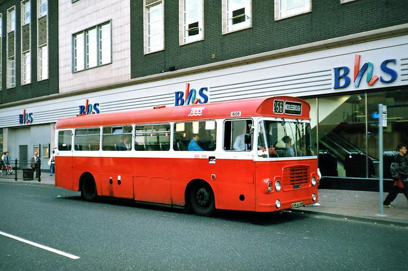 1608 AHN608M, Middlesborough 23/8/1991