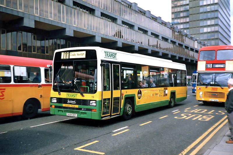 19 G619CEF, Middlesborough 23/8/1991