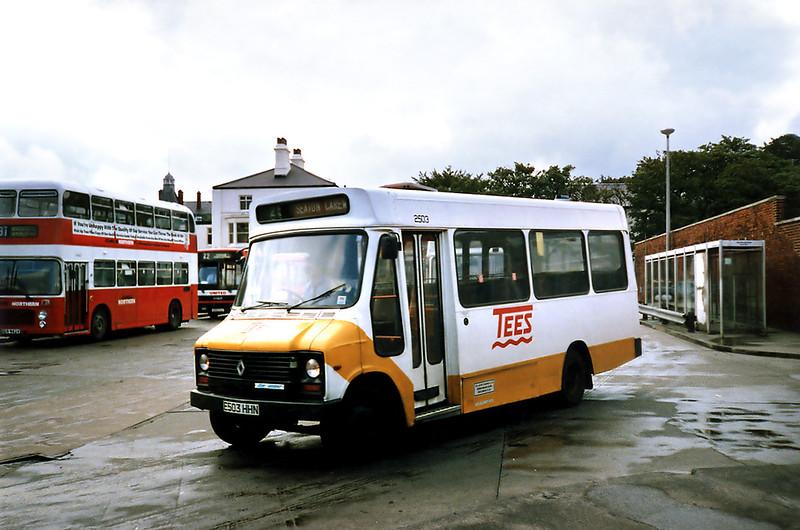 2503 E503HHN, Hartlepool 23/8/1991