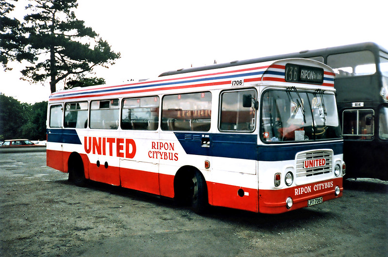 1706 LPT706T, Ripon 23/8/1991