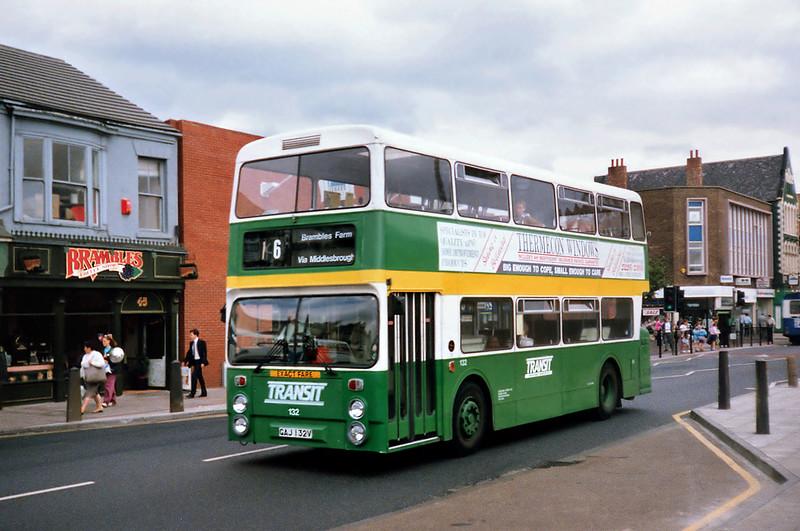 132 GAJ132V, Middlesborough 23/8/1991