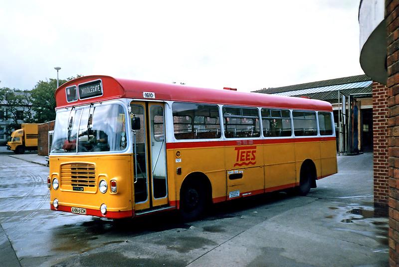 1610 AHN610M, Hartlepool 23/8/1991