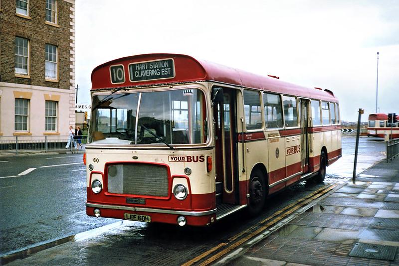 60 LEF60H, Hartlepool 23/8/1991