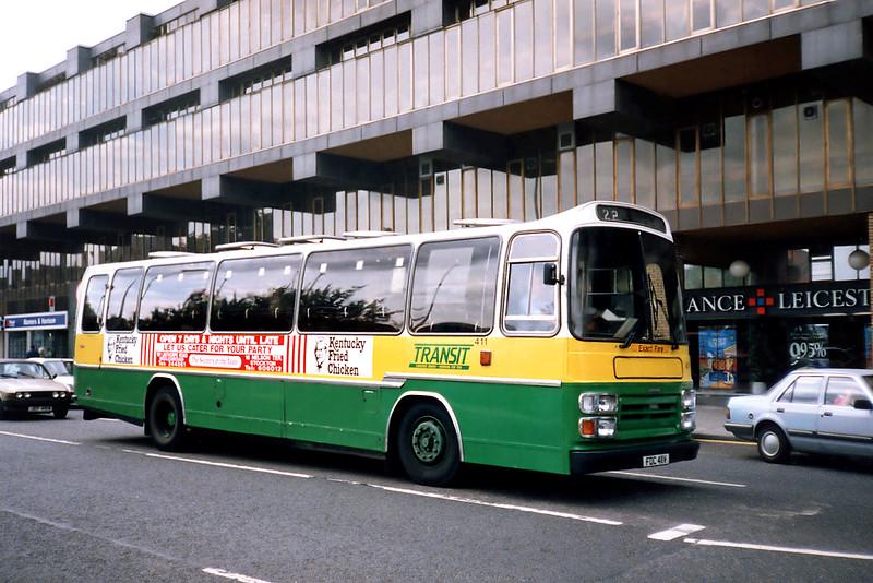 411 FDC411V, Middlesborough 23/8/1991