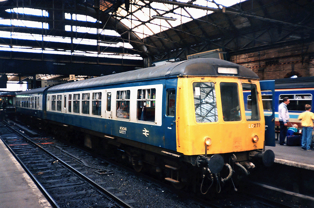 54246 and 53982, Manchester Piccadilly 24/6/1991