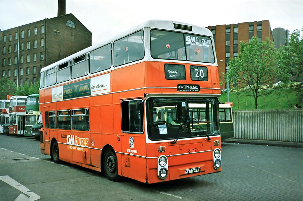 8247 FVR247V, Stockport 24/6/1991
