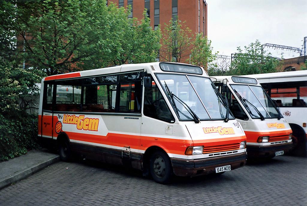 1645 D645MDB, Stockport 24/6/1991